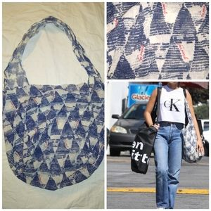 Free People Lightweight Bag Purse Red Blue White